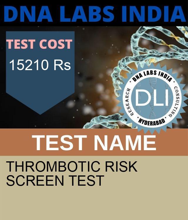 THROMBOTIC RISK SCREEN Test