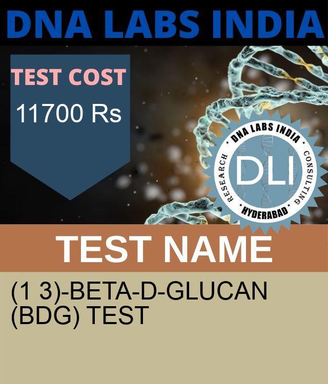 (1 3)-BETA-D-GLUCAN (BDG) Test